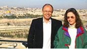 Image: Dale and Tara in Israel